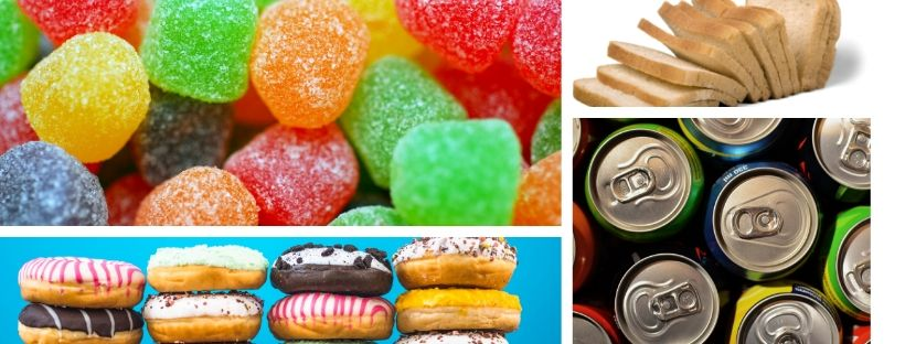 Sugary snacks, soda, bread, and junk food are all foods to avoid on the keto diet