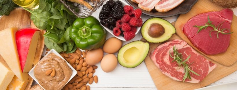 Leafy greens, eggs, vegetables, meat, seafood, nuts, and fruit are all foods you can eat on the keto diet.