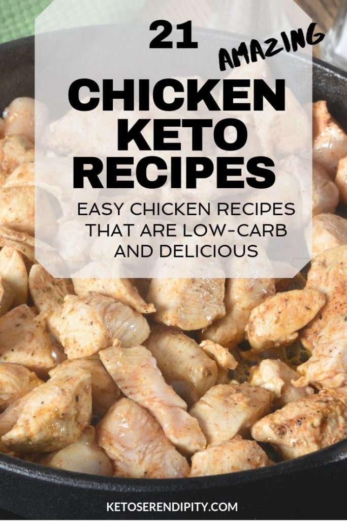 If you're following the keto diet and need some dinner inspiration, these chicken keto recipes are easy to make and taste delicious. Perfect for a low-carb and healthy dinner.