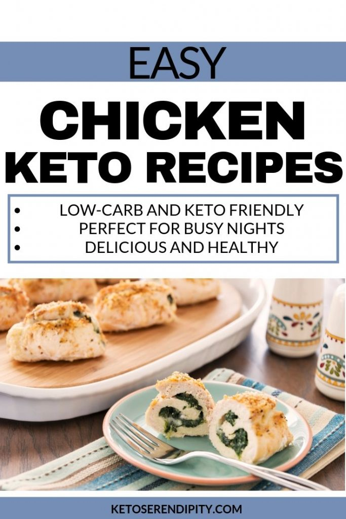21 chicken recipes for the keto diet that are delicious and low-carb.