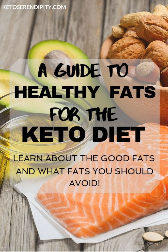 Are you confused about what kind of fat you're supposed to be eating on the keto diet? This guide explains the different types of fat, which are the healthy fats for the keto diet, and has tips for getting more fat in your diet.