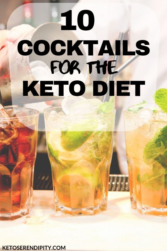 Are you looking for some tasty keto cocktails recipes that are low-carb and won't kick you out of ketosis? I've found 10 keto cocktail recipes you're going to want to try ASAP.