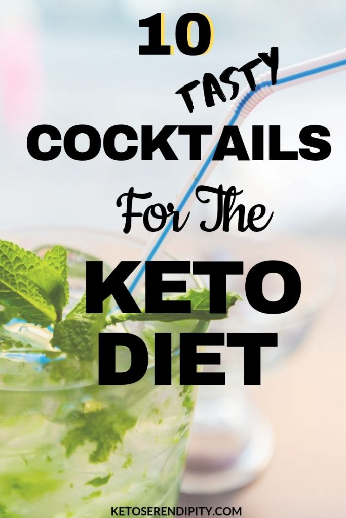 If you were worried you wouldn't be able to enjoy a cocktail while following the keto diet, worry no more. I've rounded up 10 delicious keto cocktails that you can absolutely enjoy without any guilt!