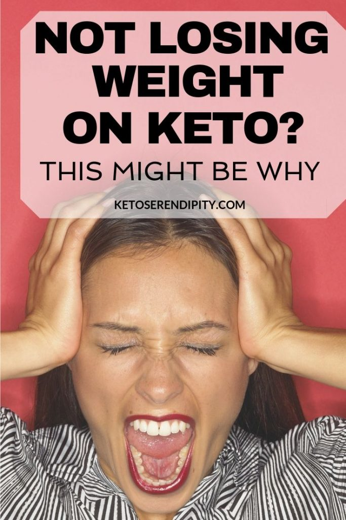 Don't lose hope if you've stopped or are not losing weight on keto! There are a few reasons why this might be happening. Read the post for a list of common reasons you might not be losing weight on keto. And the steps you can take to fix it!